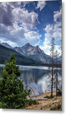 Stanley Lake View Metal Print