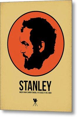 Stanley Poster 2 Metal Print by Naxart Studio