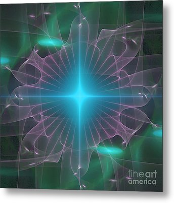Star 2 Metal Print by Ursula Freer