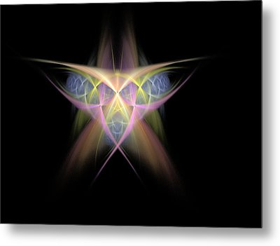 Star Metal Print by Bruce Nutting