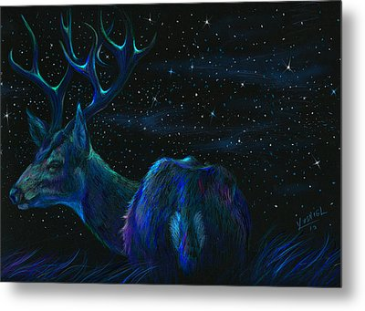 Star Bucks  Metal Print