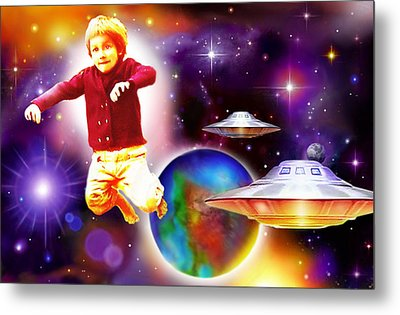 Star Child Metal Print by Hartmut Jager