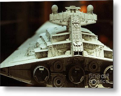 Star Destroyer Maquette Metal Print by Micah May