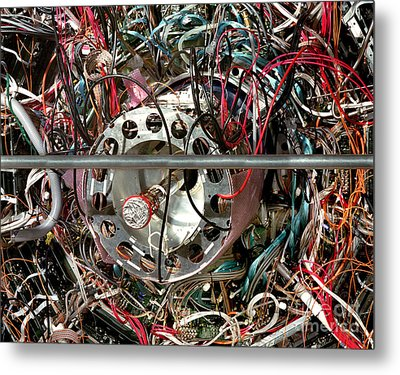 Star Detector Metal Print by Brookhaven Natl Lab and SPL and Photo Researchers