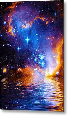 Stars As Diamonds Metal Print
