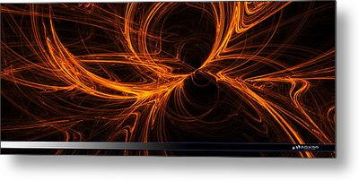 Star Fire One Metal Print by A Dx