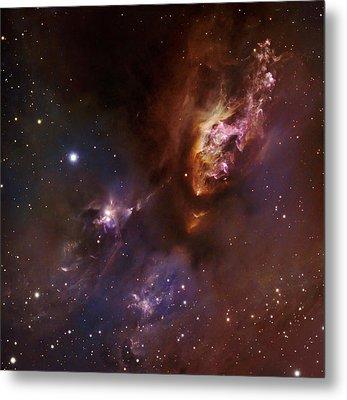 Star-forming Region Ldn 1551 In Taurus Metal Print by Robert Gendler