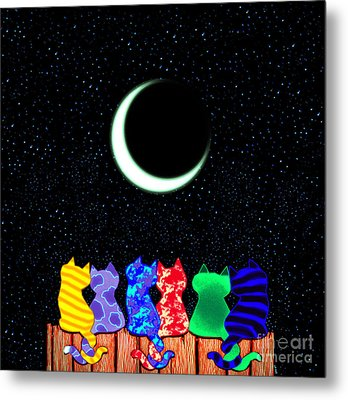 Star Gazers Metal Print by Nick Gustafson