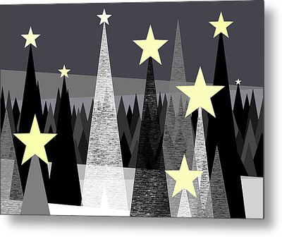 Star Light - Star Bright Metal Print by Val Arie