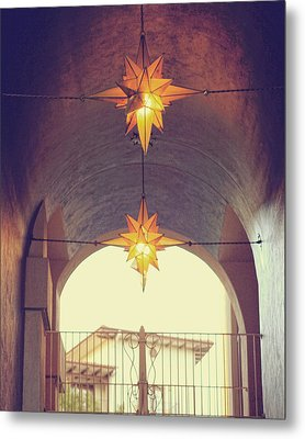 Star Lights Metal Print by Heather Green