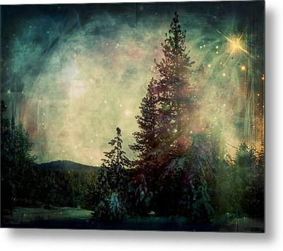 Star Of Solstice Metal Print by Leah Moore