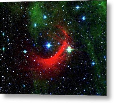 Star Shock Wave Metal Print by Nasa/jpl-caltech