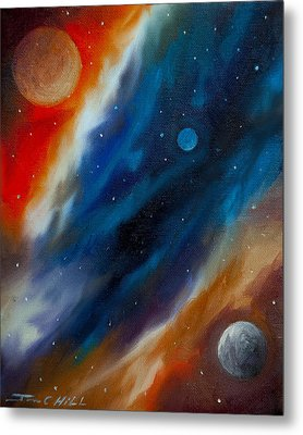 Star System 2034 Metal Print by James Christopher Hill