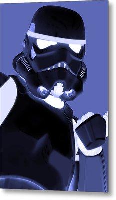 Star Wars Stormtrooper Metal Print