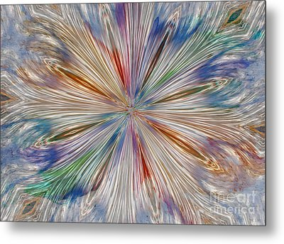 Metal Print featuring the photograph Starburst by Geraldine DeBoer
