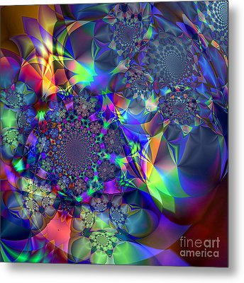 Starcluster 1 Metal Print by Ursula Freer