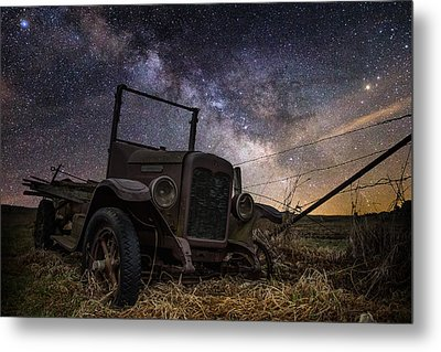 Stardust And  Rust Metal Print by Aaron J Groen