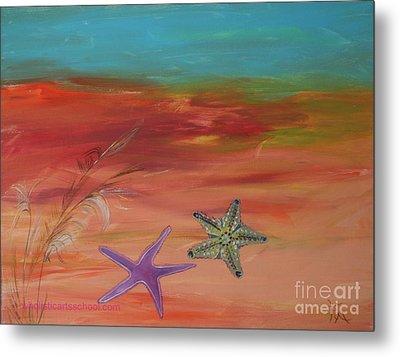Starfish Metal Print by PainterArtist FIN