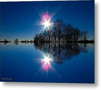 Starflection Metal Print