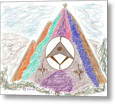 Stargate Metal Print by Mark David Gerson