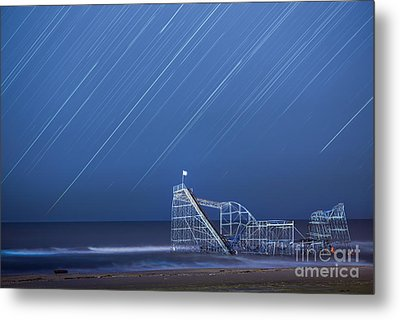Starjet Under The Stars Metal Print by Michael Ver Sprill