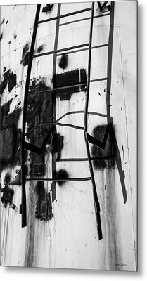 Metal Print featuring the photograph Stark Reach - Abstract by Steven Milner