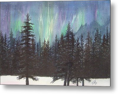 Starlight Dance Metal Print