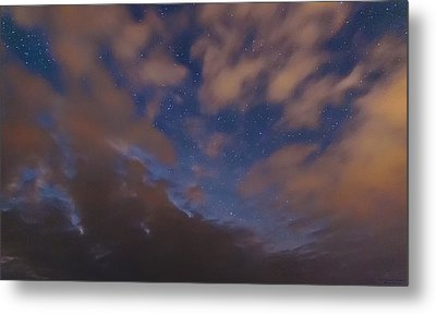 Metal Print featuring the photograph Starlight Skyscape by Marty Saccone