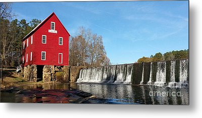 Starr's Mill In Senioa Georgia Metal Print
