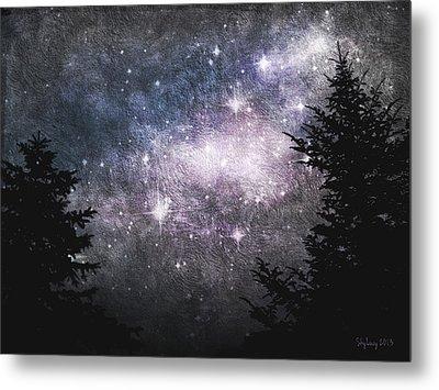 Starry Starry Night Metal Print by Cynthia Lassiter