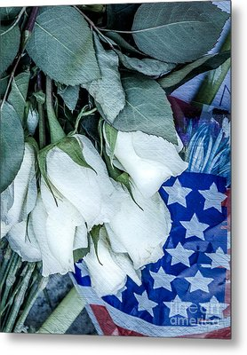Stars And Roses Forever Metal Print