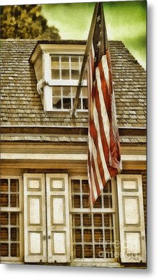 Stars And Stripes Metal Print by Mo T