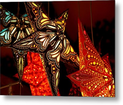 Stars By Night Metal Print