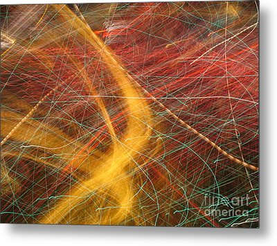 Starting A New Direction Metal Print