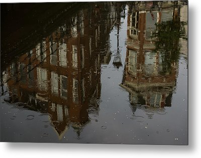 Metal Print featuring the photograph Starting To Rain... by Georgia Mizuleva