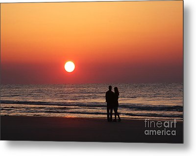 Starting Your Day Off Right With The One You Love Metal Print