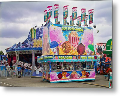 Metal Print featuring the photograph State Fair by Steven Bateson