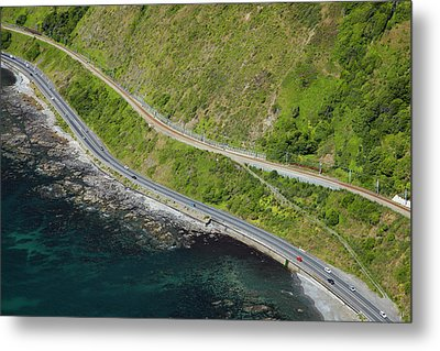 State Highway One And North Island Main Metal Print by David Wall