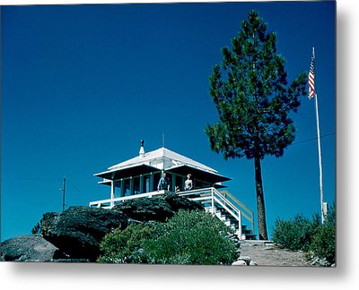 State Line Lookout 1956 2 Metal Print by Cumberland Warden