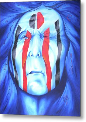 State Of The Nation Metal Print