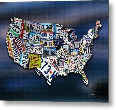 States Metal Print by Robert Smith