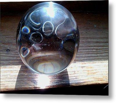 Static Spheres Metal Print by Jaime Neo