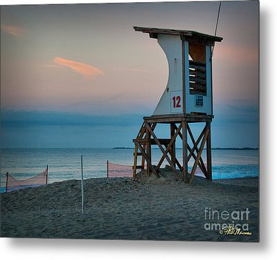 Metal Print featuring the photograph Station 12 At Sunrise by Phil Mancuso