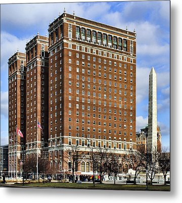 Statler City Metal Print by Peter Chilelli