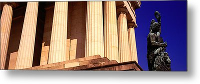 Statue Munich Germany Metal Print by Panoramic Images