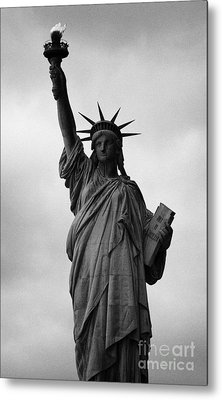 Statue Of Liberty National Monument Liberty Island New York City Nyc Metal Print