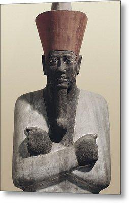 Statue Of Mentuhotep II. 2040 Bc Metal Print by Everett