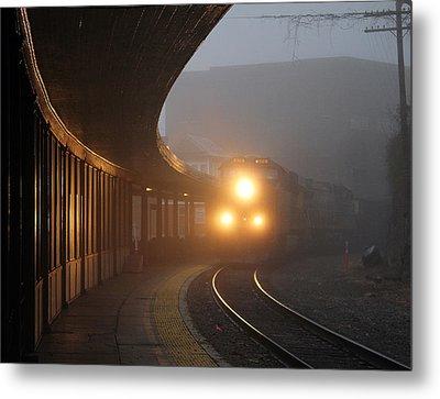 Staunton Virgina Train Metal Print