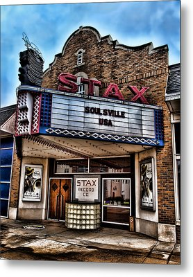 Stax Records Metal Print
