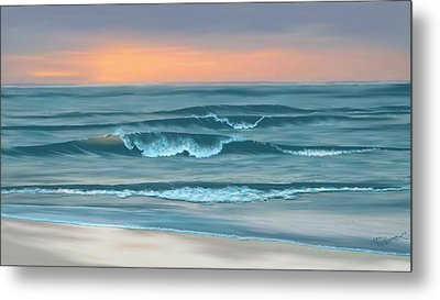 Metal Print featuring the digital art Stay Awhile Longer by Anthony Fishburne